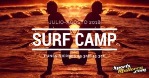 Campamento surf Mallorca