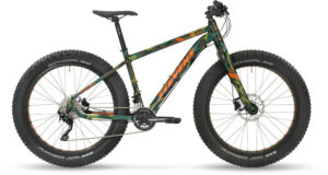 Fat bike camouflage